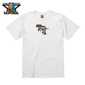 T-REXデザインのTシャツ