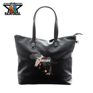 T-Rexの可愛いトートバッグ
