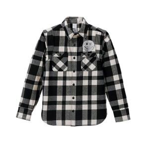 チェックシャツ スワロ/ホットフィックスコース