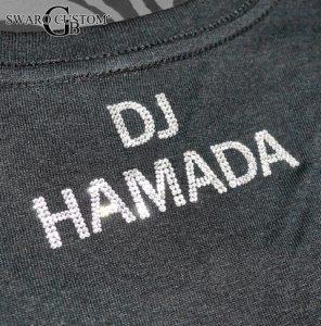 DJ HAMADAさま スワロTシャツ製作