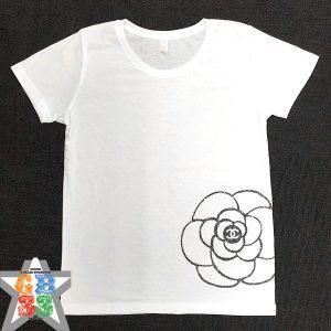 シャネルカメリアスワロTシャツ