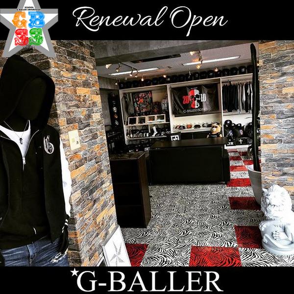 G-BALLERリニューアルオープン!!
