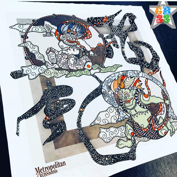 MINATSU_Art風神雷神